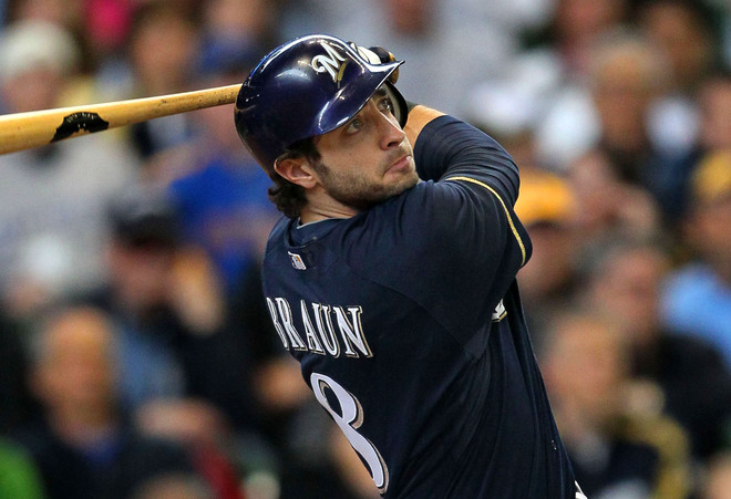 Ryan Braun looks to bounce back from his 65-game PED suspension for Milwaukee.