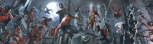 Just a small sampling of the Spider-Men we'll be seeing.