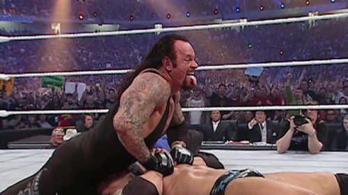 The beginning of The Undertaker's run of fantastic Mania matches.
