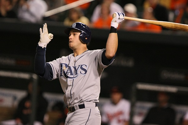Evan Longoria anchors the Rays on offense and defense.