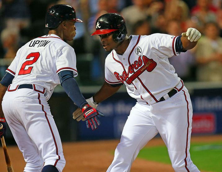 The Upton brothers are crucial to the Braves' 2014 success.