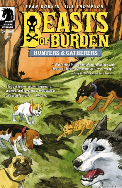 Beasts of Burden: Hunters and Gatherers one shot cover