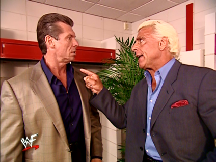 2232 - pointing ric_flair suit vince_mcmahon wwe wwf