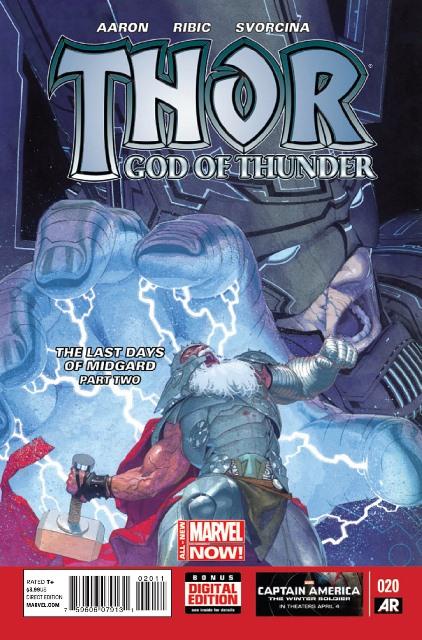 Thor: God of Thunder #20 cover