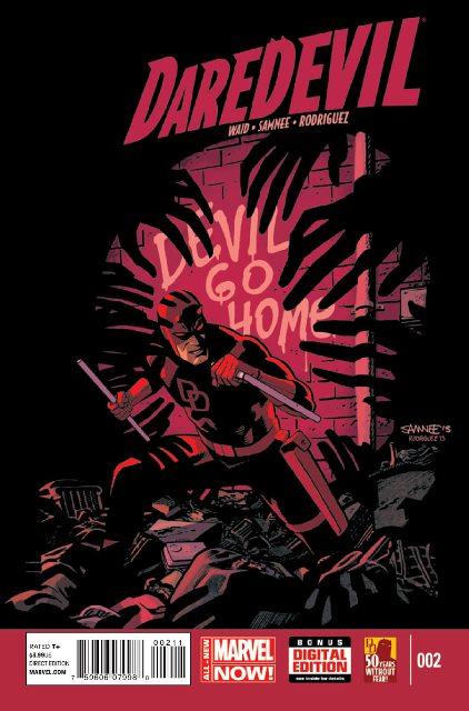 Daredevil #2 cover