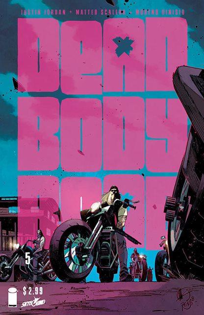 Dead Body Road #5 cover