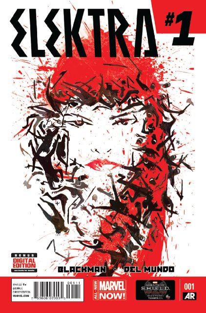 Elektra #1 cover