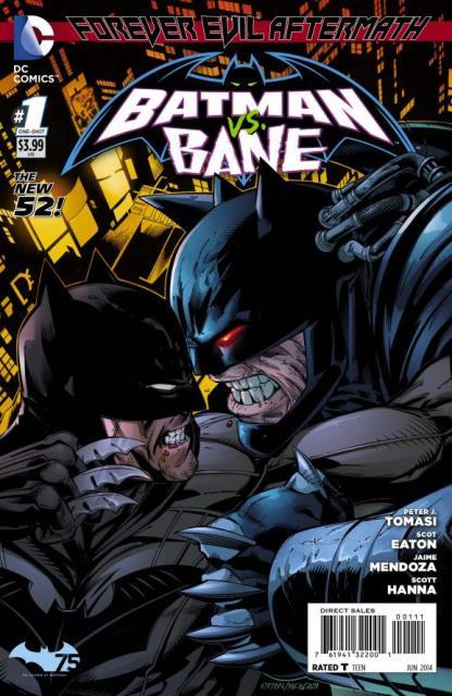 Forever Evil Aftermath: Batman vs. Bane #1 cover