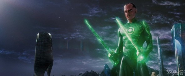 Sinestro steals every scene in which he appears.