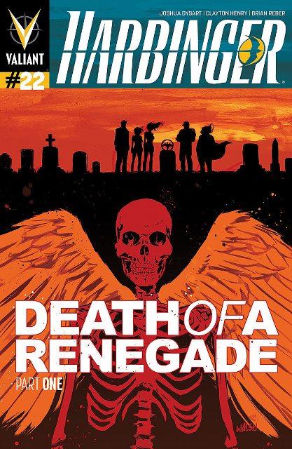 Harbinger #22 cover