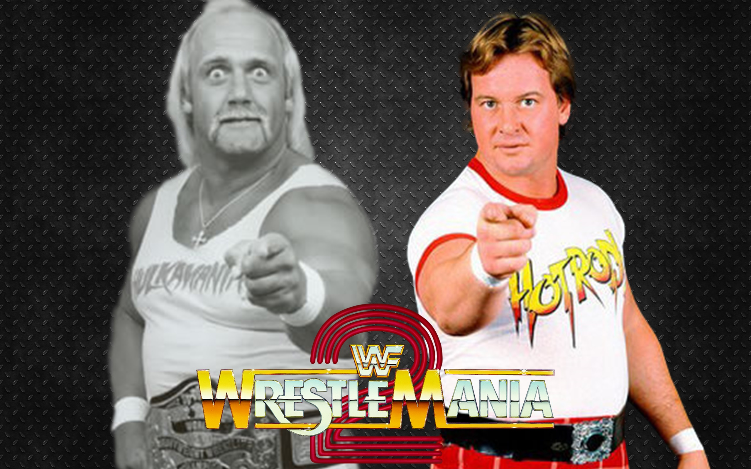 No word on if Hogan would actually wrestle in black & white.