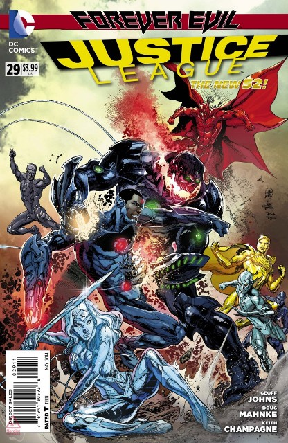 Justice League #29 cover