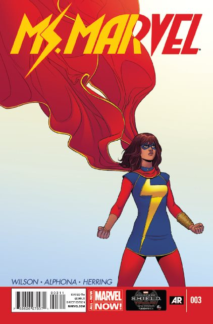Ms. Marvel #3 cover