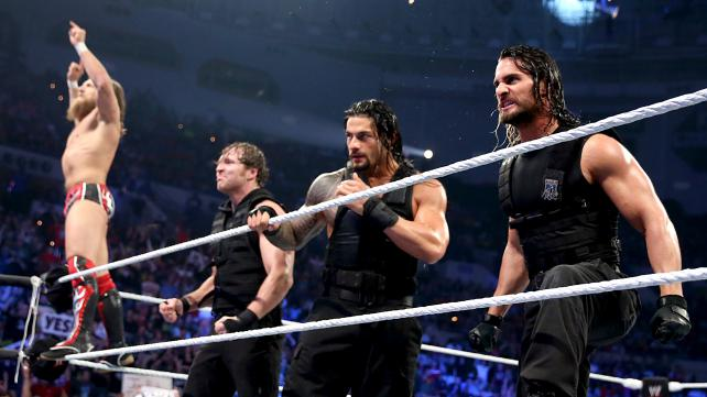 Looks like this Daniel Bryan and the Shield alliance is for real. [Photo courtesy of WWE.com]