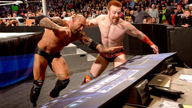 A motivated Sheamus looks to avenge the beating he received at the hands of Batista prior to WrestleMania. [Photo courtesy of WWE.com]