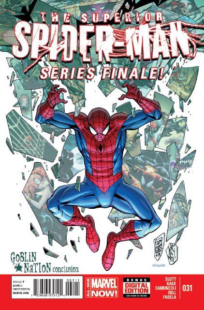 Superior Spider-Man #31 cover