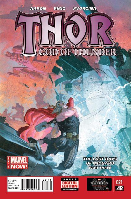 Thor: God of Thunder #21 cover
