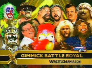 WrestleMania Battle Royal Gimmick