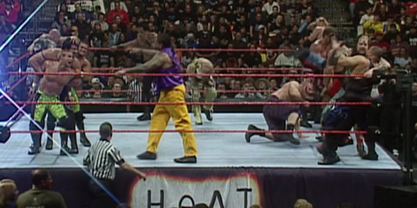 WrestleMania Battle Royal Heat