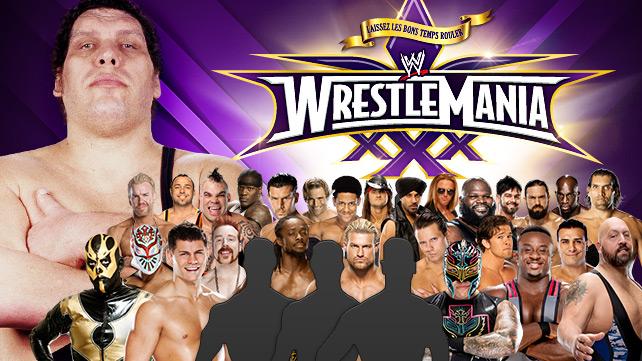 WrestleMania Battle Royal Promo