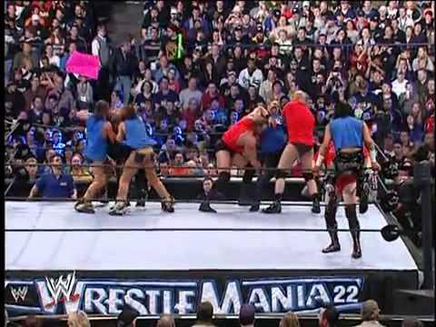 WrestleMania Battle Royal Raw v Smackdown
