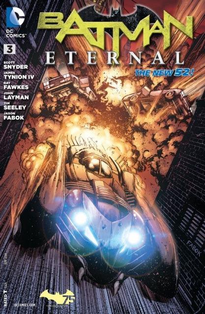 Batman Eternal #3 cover