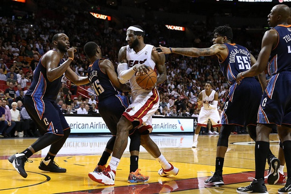 The Heat face off with the Bobcats in the first round
