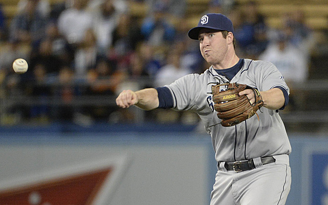 Second-year second baseman Jedd Gyorko hopes to improve on his freshman campaign
