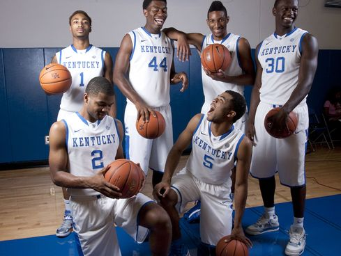 Kentucky's five freshmen starters will be the first squad of its kind since Michigan's fabled Fab Five in the 1990's to reach the Final Four.