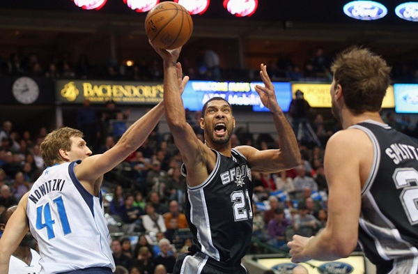 The Spurs dominated the regular season series with the Mavs