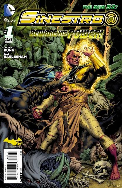 Sinestro #1 cover