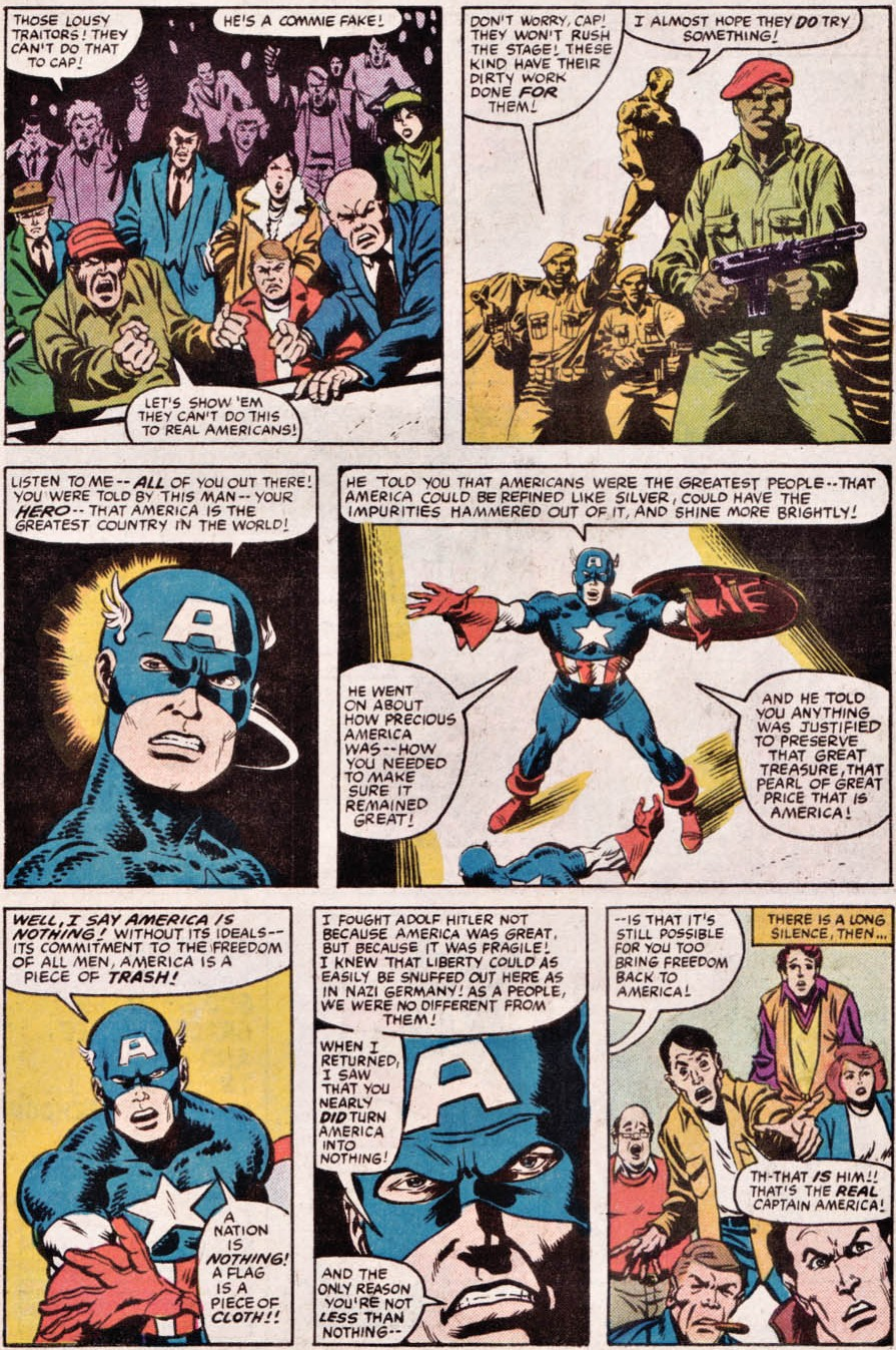 It may be a 30 year old What If..? story, but Captain America has some thoughts on American exceptionalism.
