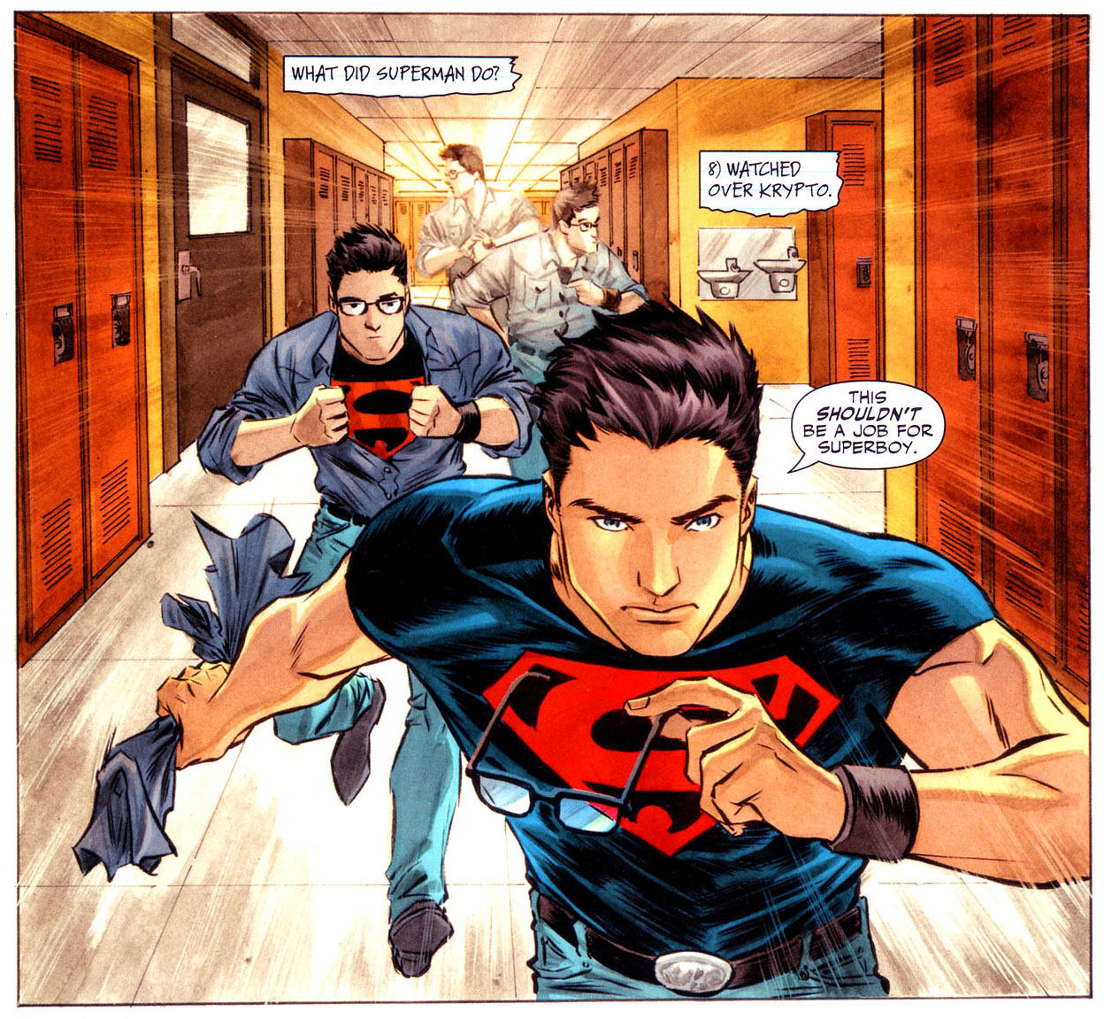 A much better version of Superboy than any seen in the New 52.
