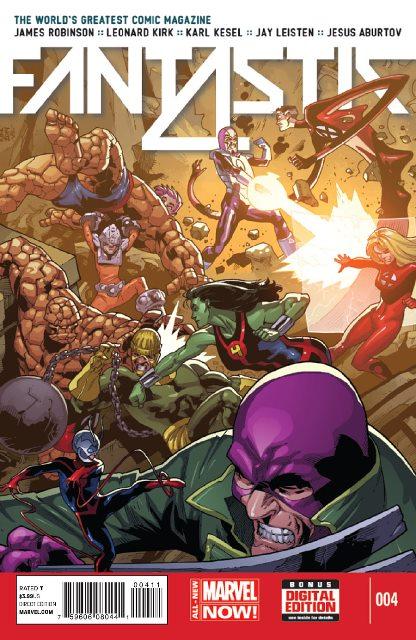 Fantastic Four #4 cover