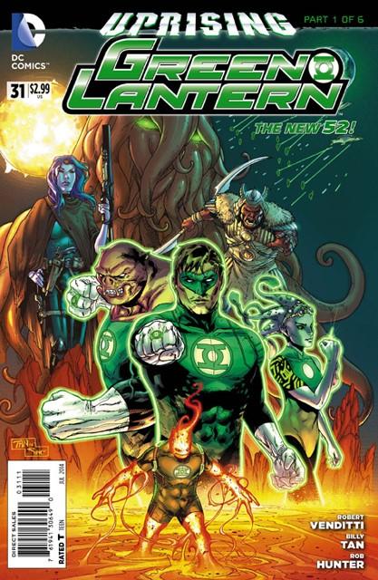 Green Lantern #31 cover