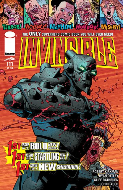 Invincible #111 cover