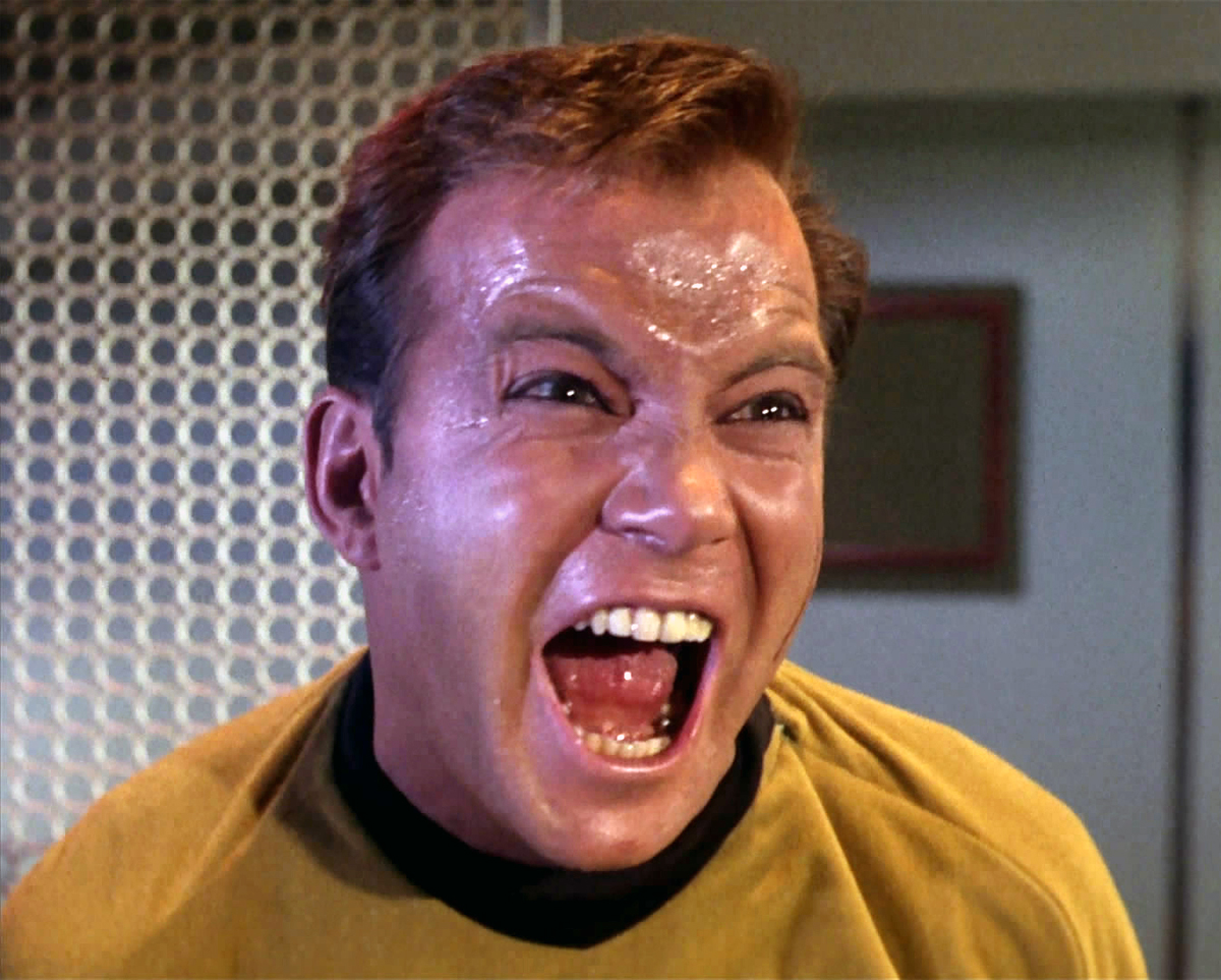 Twitter user and Facebook commenter James T. Kirk.