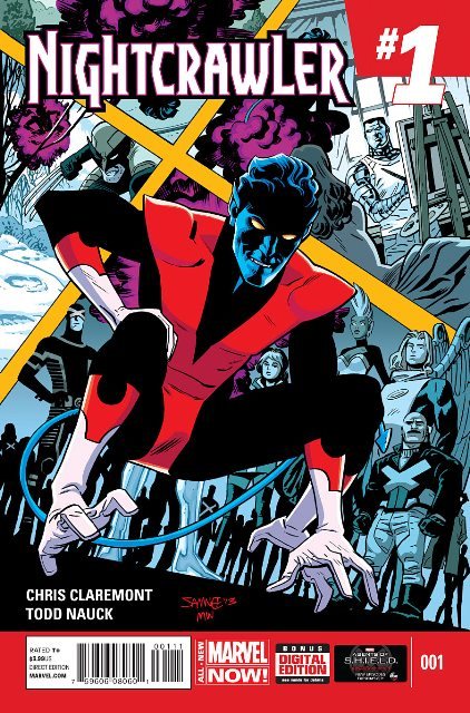 Nightcrawler #1 cover