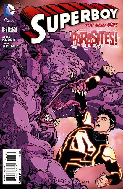 Superboy #31 cover