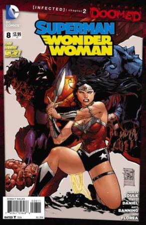 Superman/Wonder Woman #8 cover