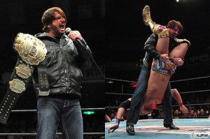 AJ returns at Death Before Dishonor. Question is will he be still IWGP Heavyweight Champion ?