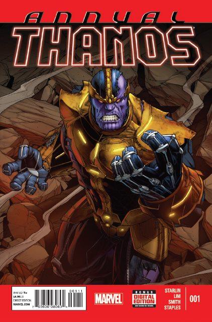 Thanos Annual #1 cover