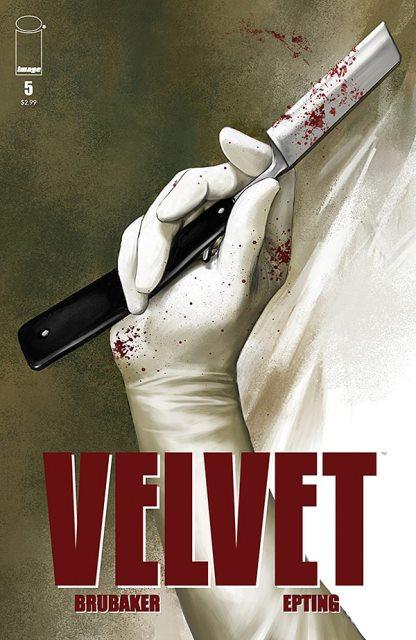 Velvet #5 cover