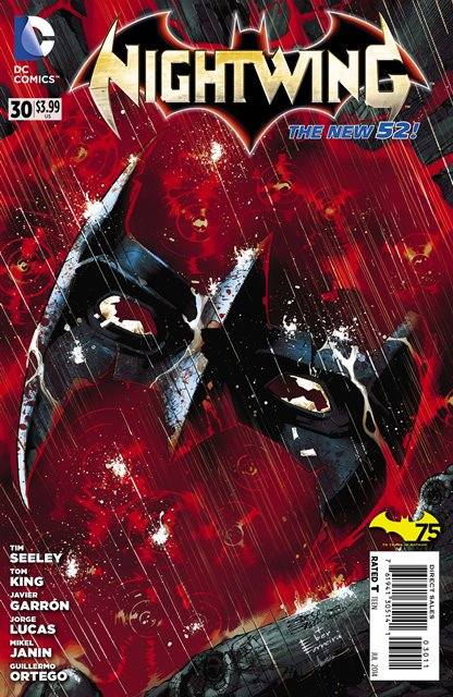 Nightwing #30 cover