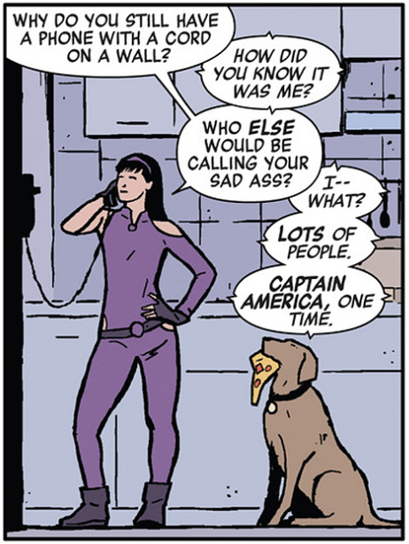 An example of the Kate-Clint dynamic.
