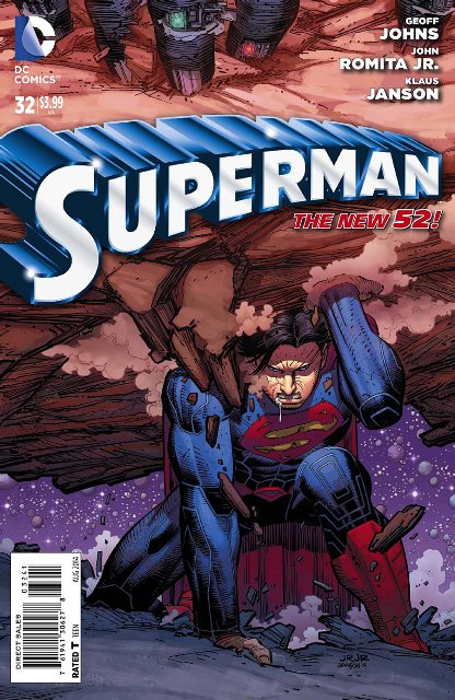 Superman #32 cover