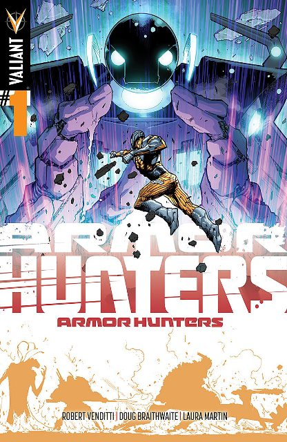 Armor Hunters #1 cover