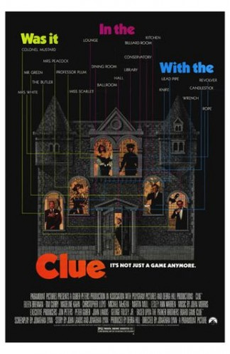 Clue missed the final list by a single point. It finished with 8 points on two second-place votes.