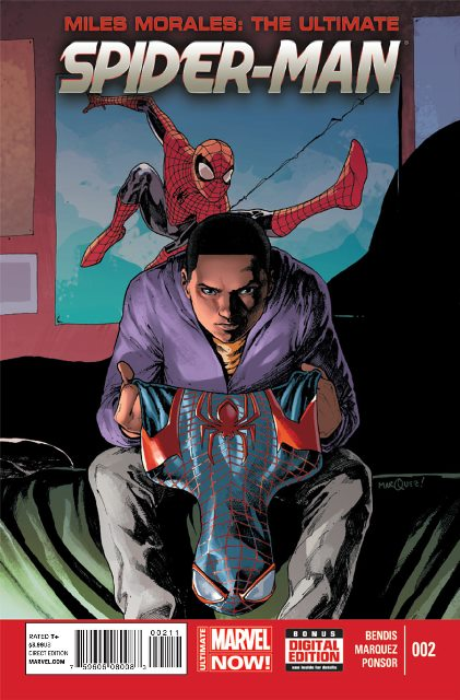 Miles Morales: The Ultimate Spider-Man #2 cover