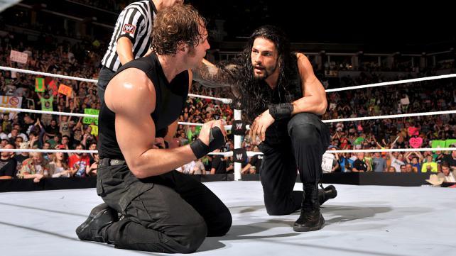The Shield isn't dead...yet. (Courtesy WWE)